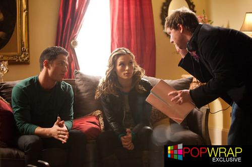 Behind the scenes: 2x13