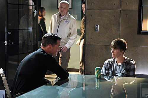 CSI wallpaper possibly containing a sign and a warehouse called CSI - Episode 11.15 - Targets of Obsession - Promotional Photos Feat. Justin Bieber