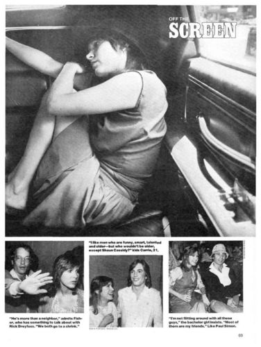 Carrie Fisher Статья in People 77-78