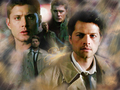 Castiel and Dean