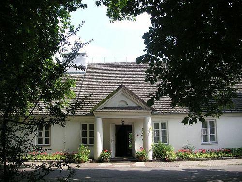Chopin's family house in Zelazowa Wola