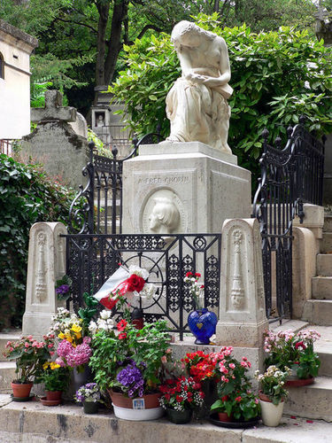 Chopin's grave in Paris