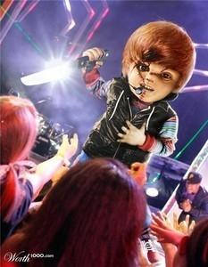 Chucky Bieber!!! XD
