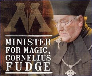 Cornelius gawing kalokohan - Minister for Magic 1990 - 1996
