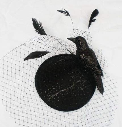 ворона Funeral Hat