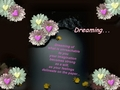 DREAMING - poetry photo