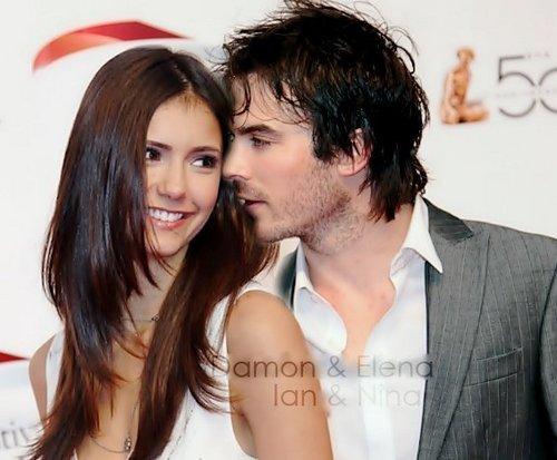 Damon & Elena Ian & Nina