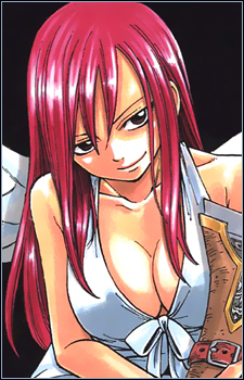 Erza and Lucy Обои probably with Аниме called Erza