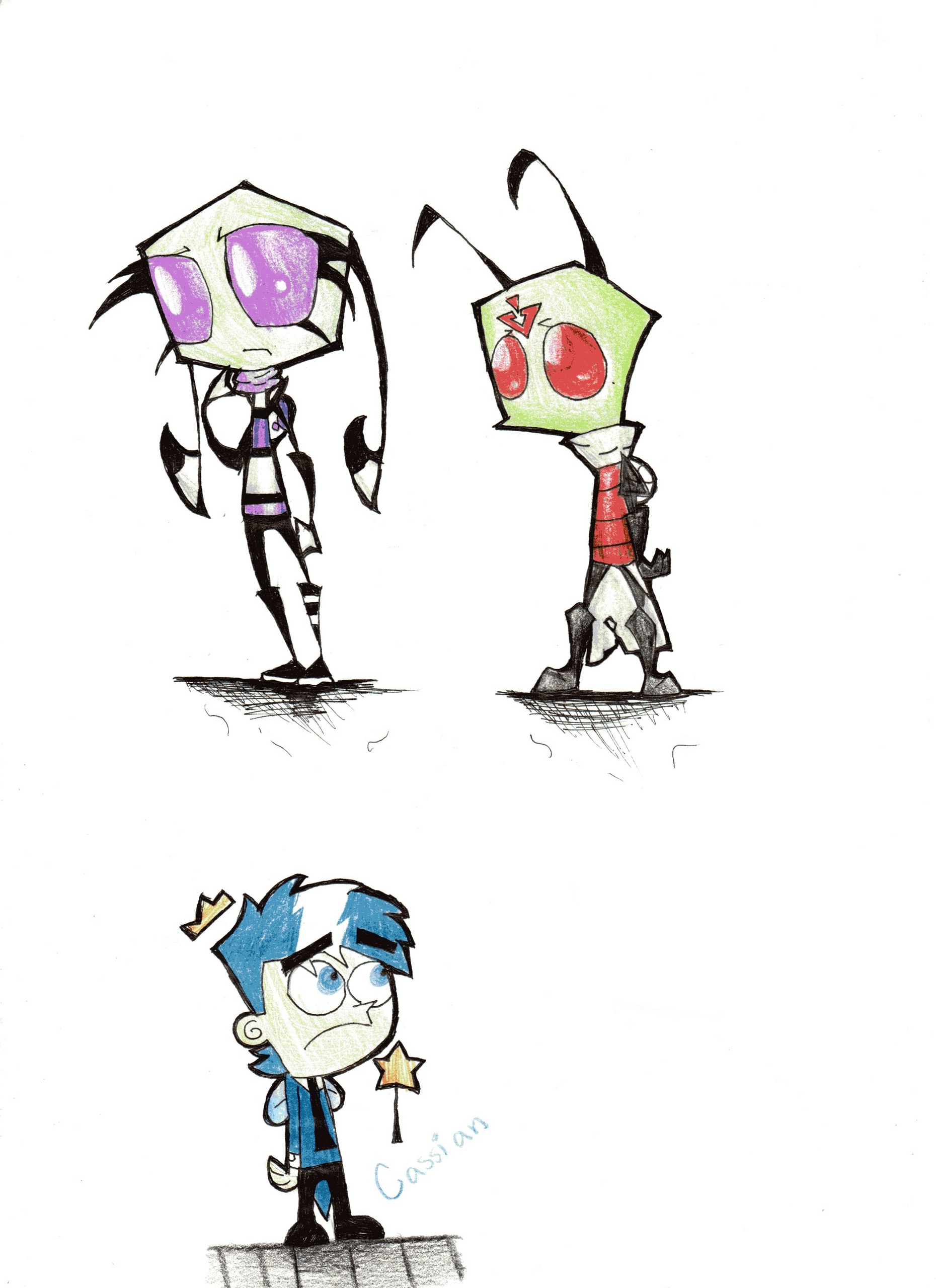 Invader Zim Characters | www.imgkid.com - The Image Kid ... Invader Zim Characters