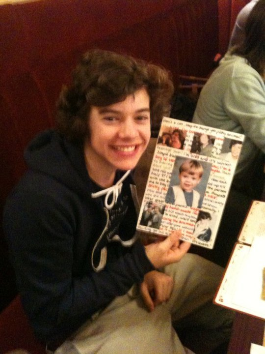 Flirty Harry Celebrating His 17th Birthday 100% Real :) x - one-direction photo