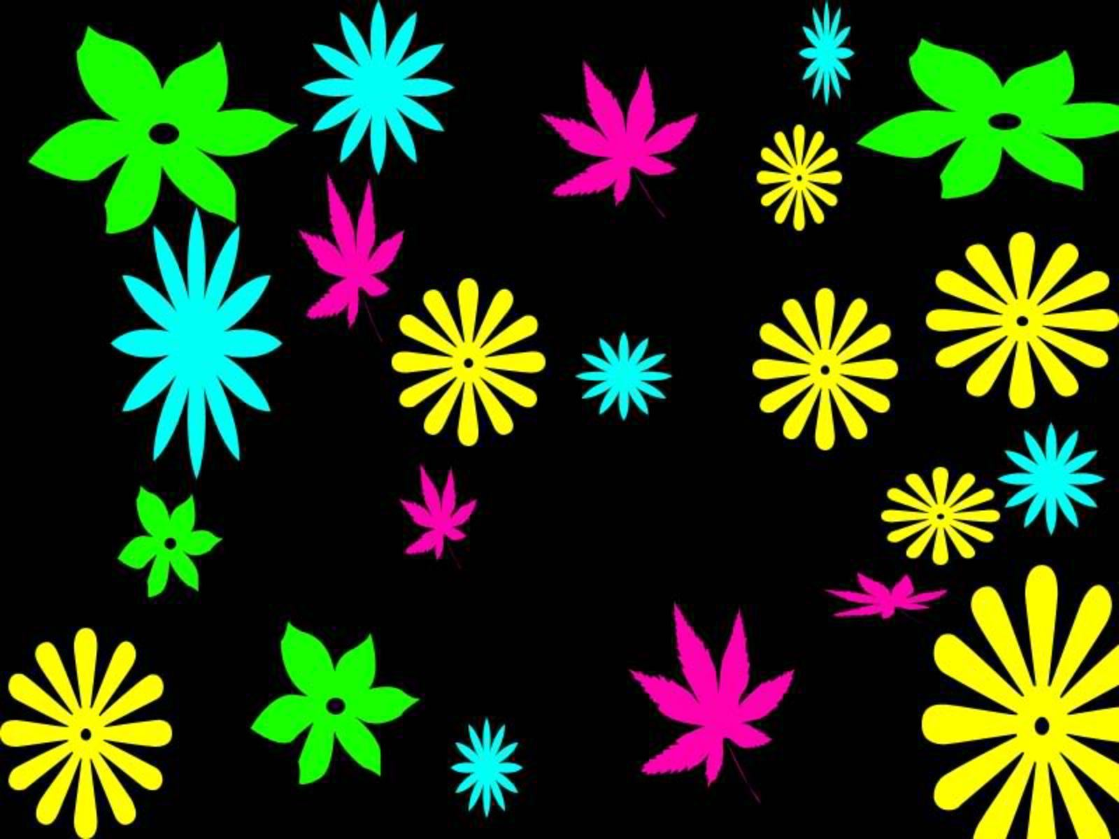 neon colors rock images flowers hd wallpaper and