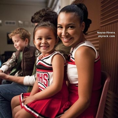 GLEE-Santana and Mini Santana