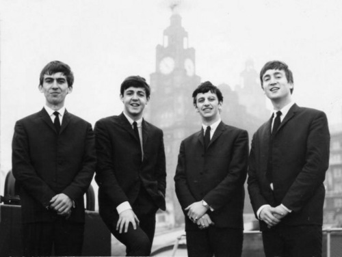 Great picture of the early Beatles