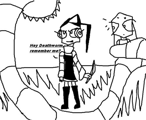ciao Deathworm, remember me?
