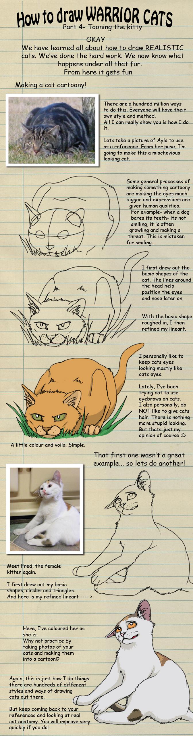 Warrior Cat Obsessed Fan Club Bilder How To Draw A Warrior Cat Hd