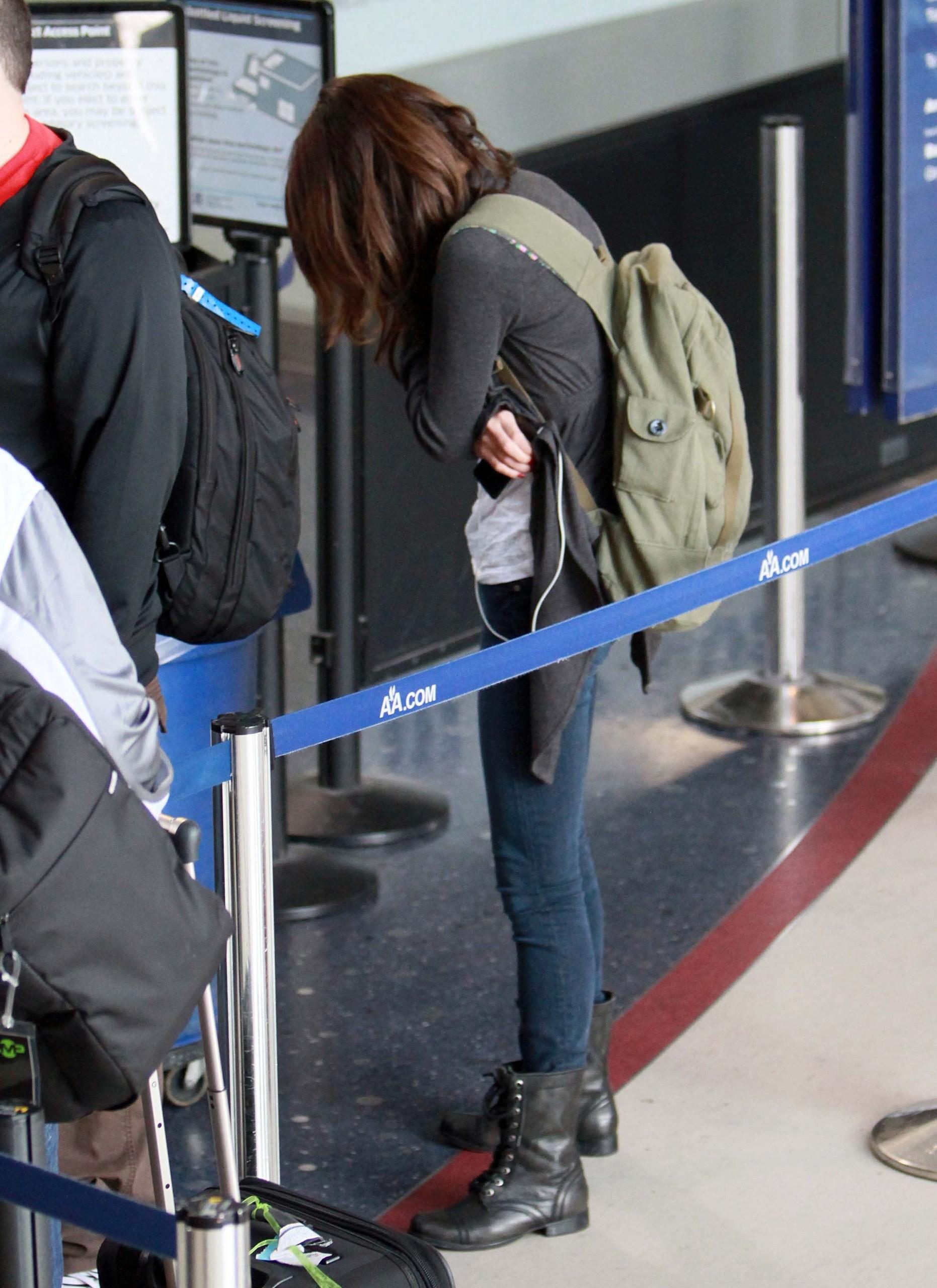 January 30 - At LAX Airport, 2011