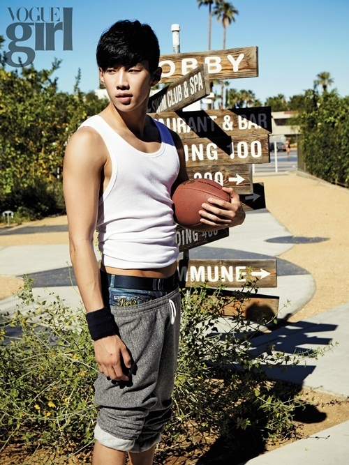 geai, jay Park for Vogue Girl