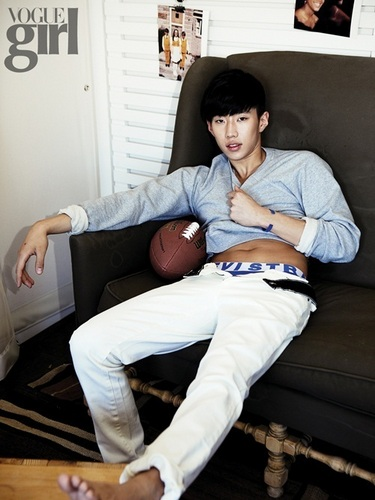 chim giẻ cùi, jay Park for Vogue Girl
