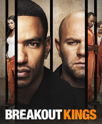 Jimmi Simpson in a Promotional Poster for 'Breakout Kings'