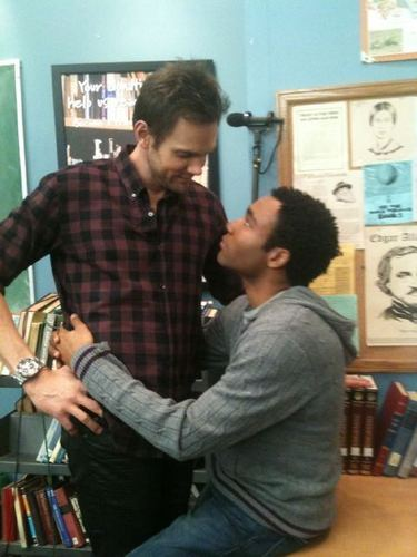 Joel McHale and Donald Glover