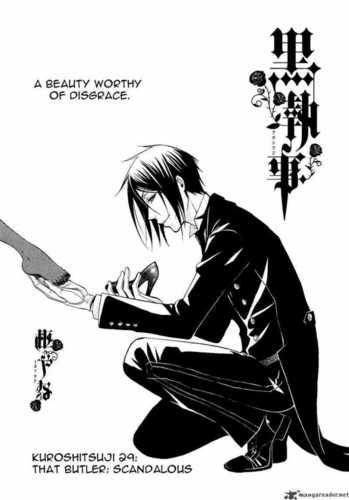 Kuroshitsuji [Black Butler] Chapter 28-29 Manga Scans
