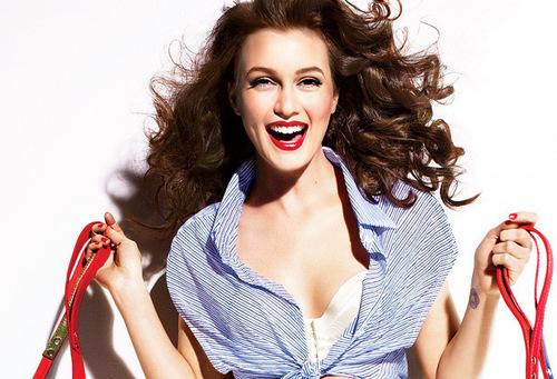 Leighton Meester - Vanity Fair Photoshoot