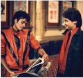 MICHAEL - micheal-jacksons-thriller photo