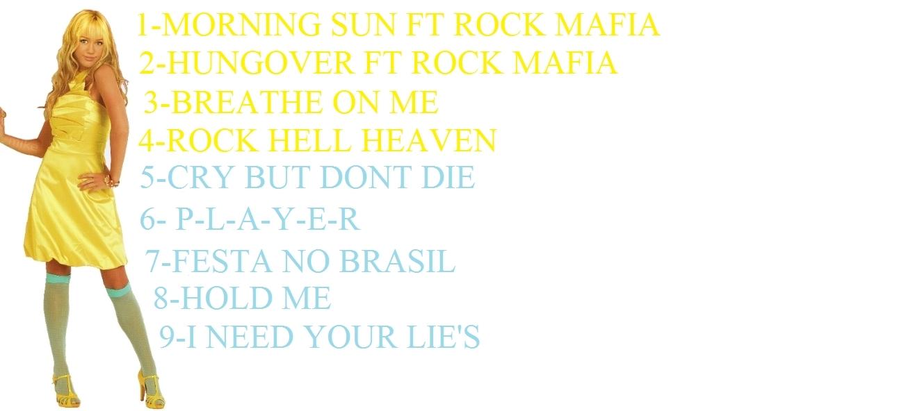 MORNING SUN ALBUM TRACK LIST
