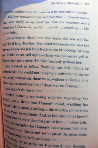 Midnight spoilers- Delena.