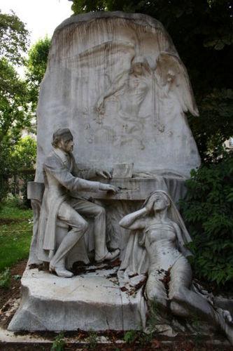 Monument to Chopin in Parc Monceau (Paris)