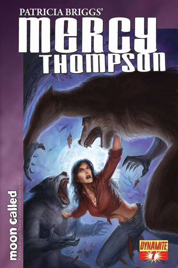 Moon Called Graphic Novel pages - Mercy Thompson Series