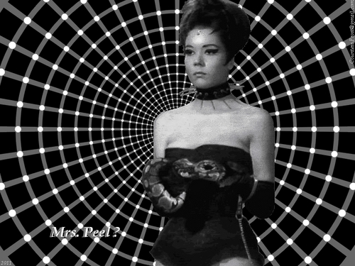 Diana Rigg kertas dinding called Mrs. Peel?