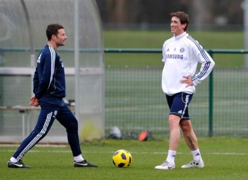 Nando - Chelsea's Training
