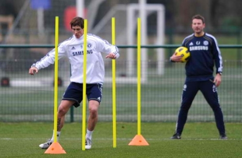 Nando - Chelsea's Training