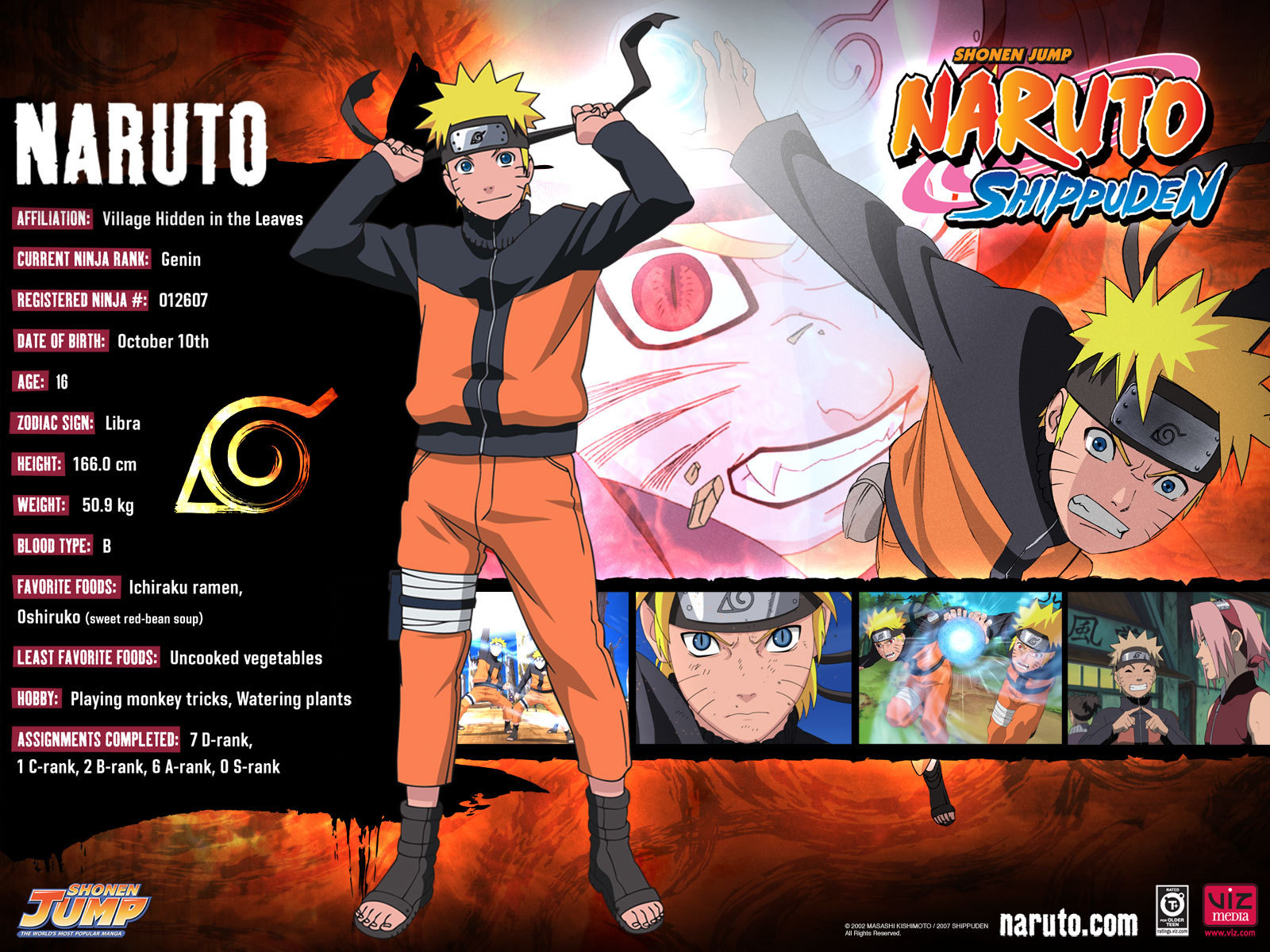 Naruto And Naruto Shippuden Wallpaper
