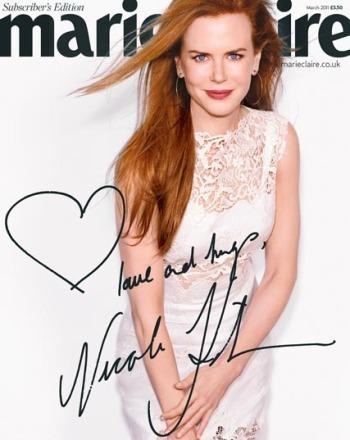 Nicole Kidman - Marie Claire UK photoshoot