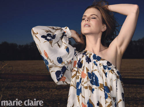 Nicole Kidman for Marie Claire - Photoshoot