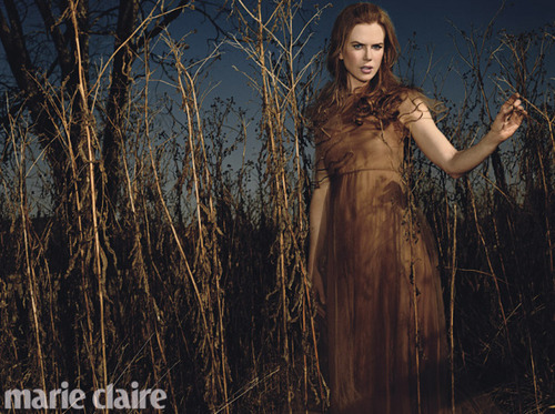 Nicole Kidman for Marie Claire - Photoshoot