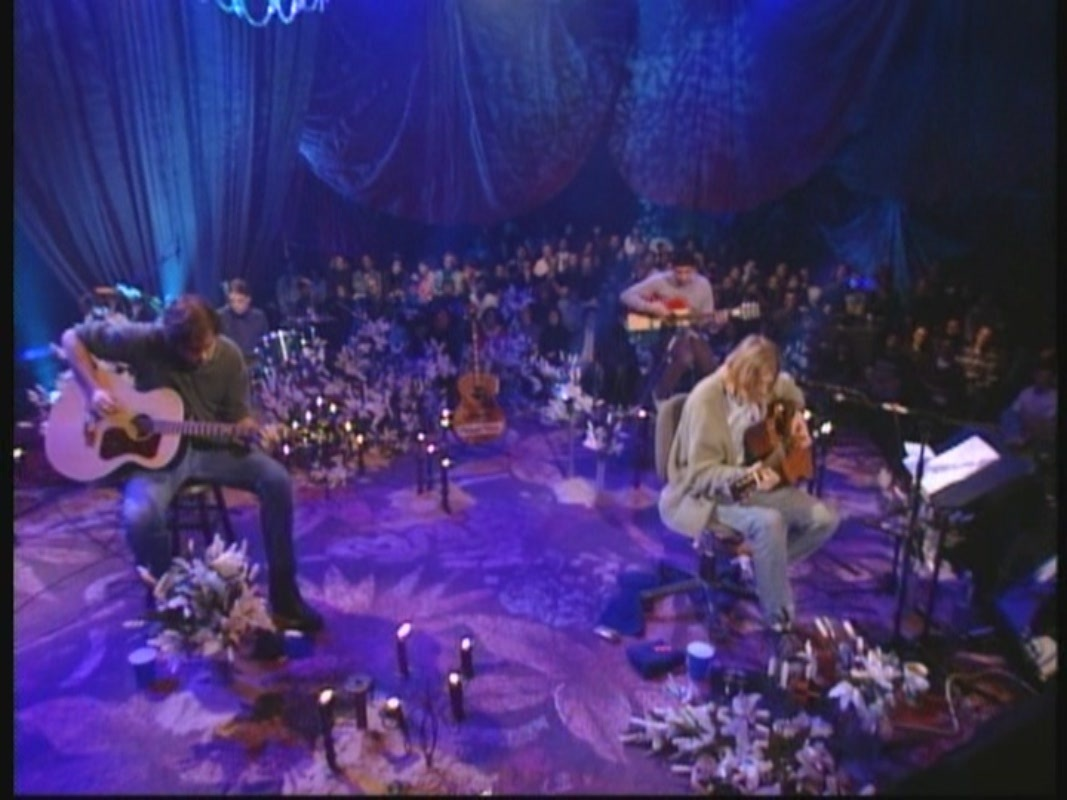 Nirvana Unplugged Wallpaper Nirvana Mtv Unplugged in