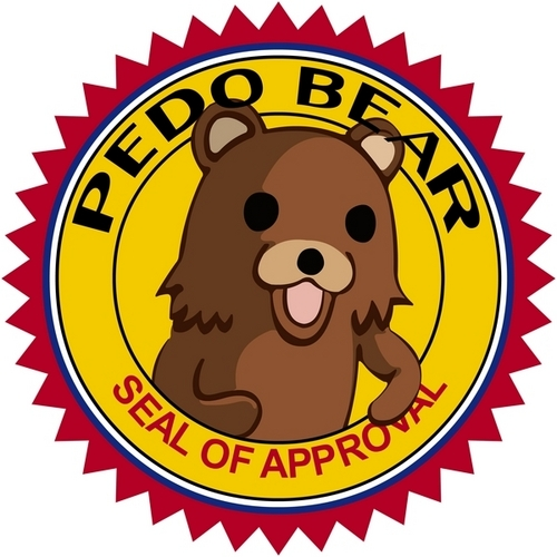 Pedo beer zeehond, seal Of Approval
