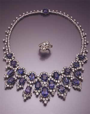 Princess Soraya's jewellery.