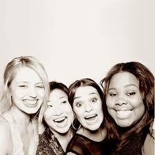 Quinn, Mercedes, Tina and Rachel
