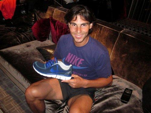 Rafael Nadal: show more than he wanted!!