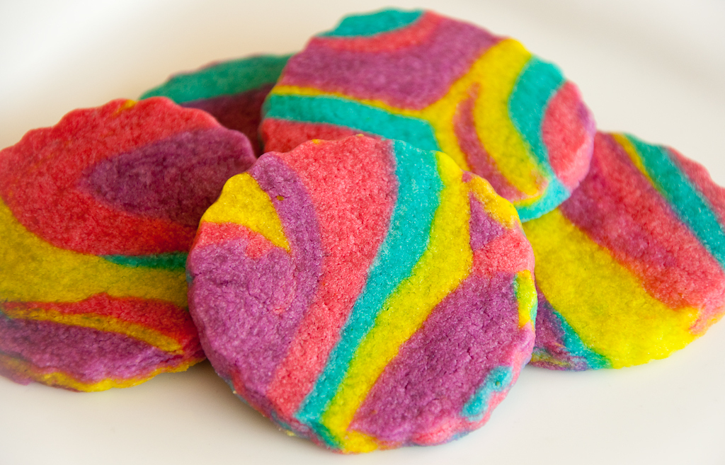 Rainbow Cookies!!! - Bright Colors Image (18926539) - Fanpop
