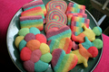 Rainbow Cookies!!! - bright-colors screencap