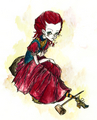 Red Queen - alice-in-wonderland-2010 fan art