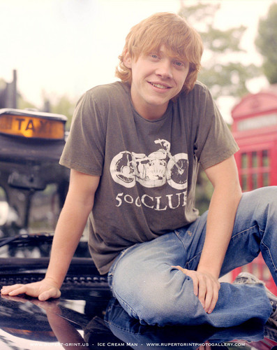 Rupert Grint wallpaper called Rupert( Driving Lessons) Photoshhots HQ