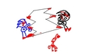 SONIC AND SHADOW ARE DEAD . OH NO!. - sonic-the-hedgehog screencap