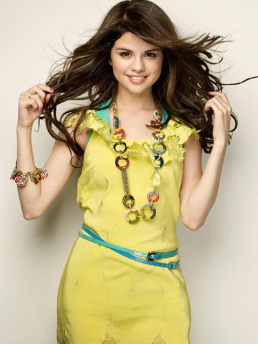 Selena Gomez on September, 2009 Seventeen Magazine photoshoot
