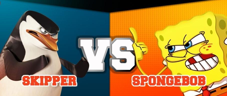 Skipper vs. Spongebob